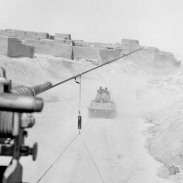 French Camps in Colonized Algeria