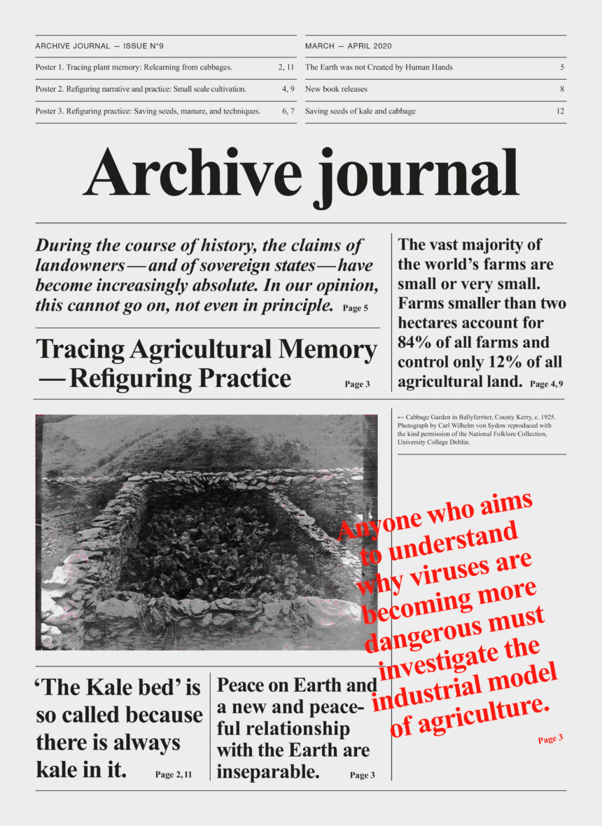 Archive Journal N°9