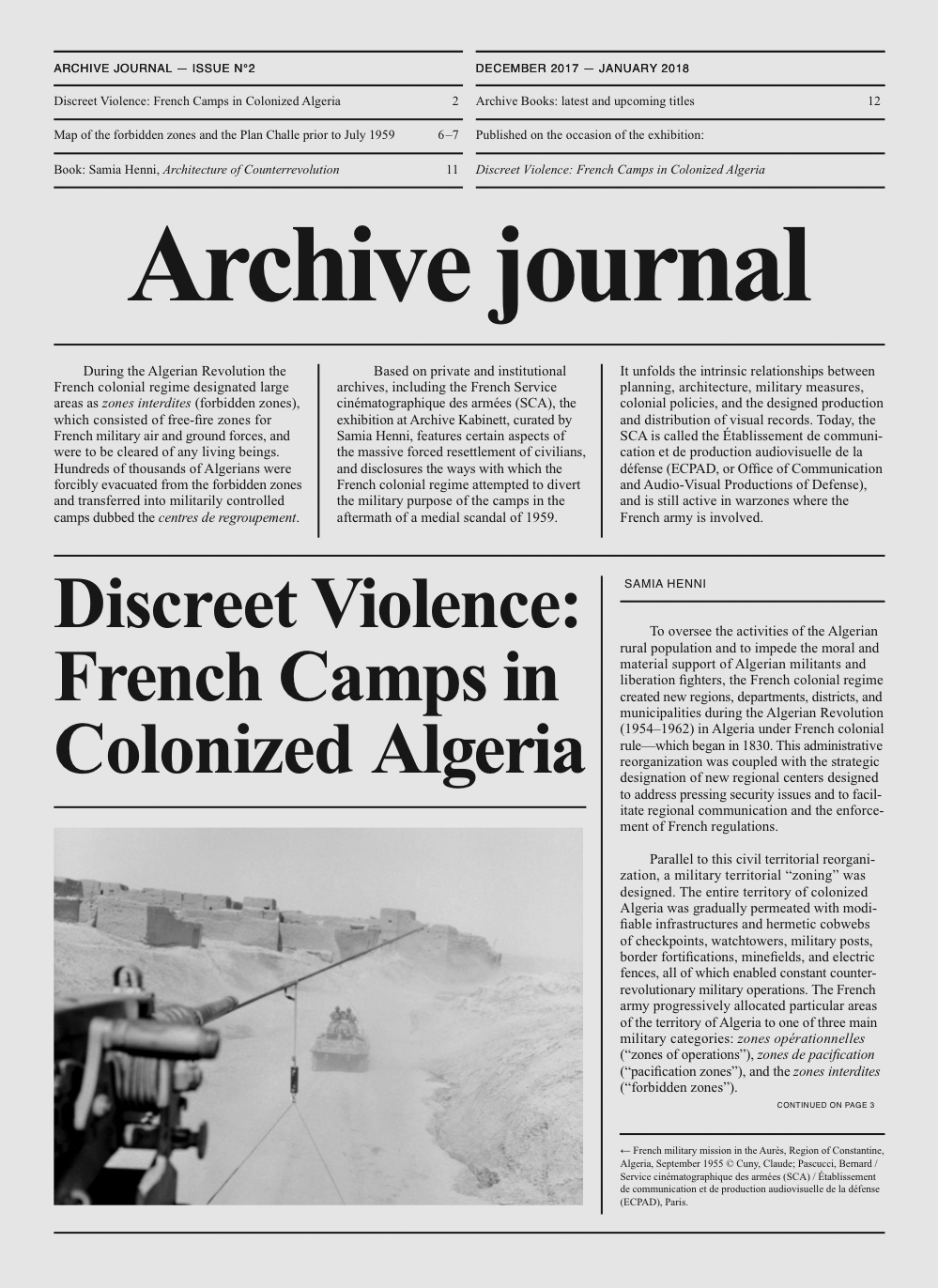 Archive Journal N°2